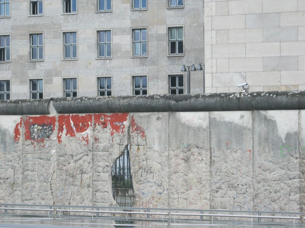 Il muro di Berlino, foto di Gloria