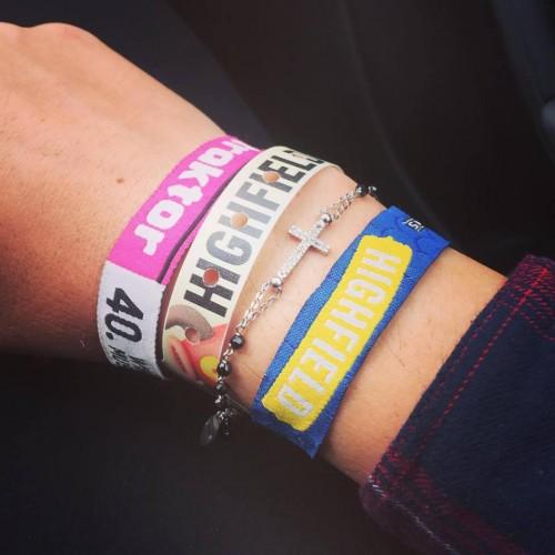 Il braccialetto del Festival, foto di Rossella