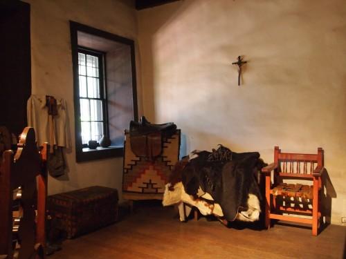 Interno della più antica casa messicana, foto di Gloria