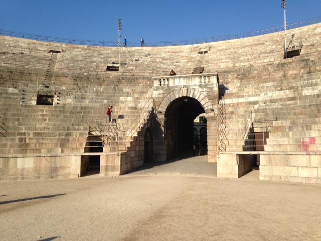 L'Arena sotto al sole