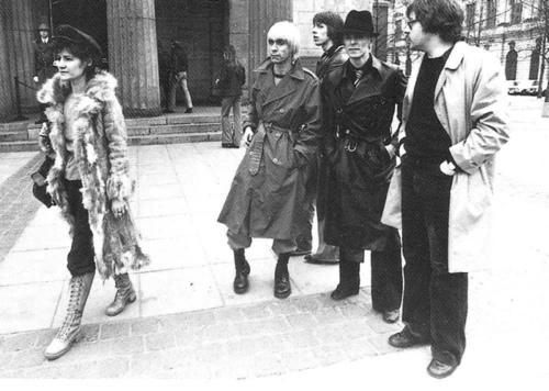 Bowie , Iggy e Brian Eno