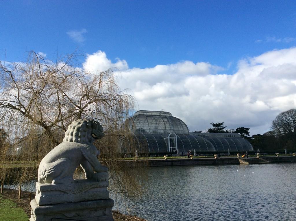 La famosa Palm house dei Kew Garden foto di Gloria