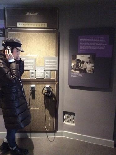 Io nel museo