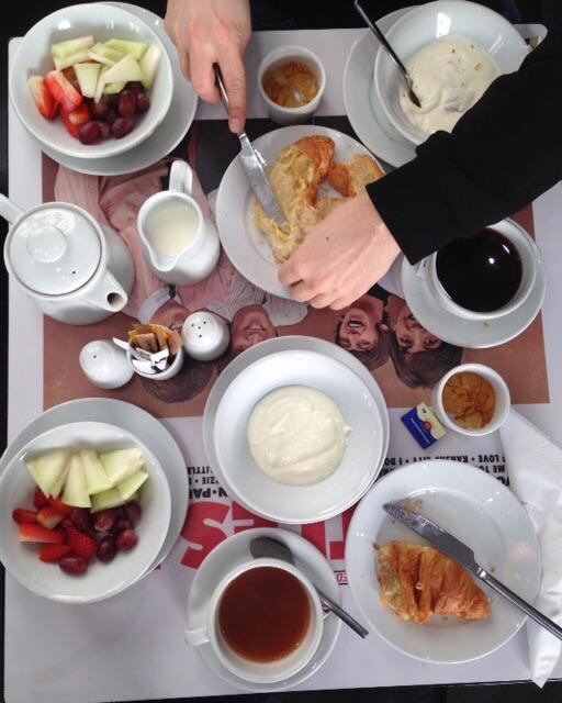 La mia colazione