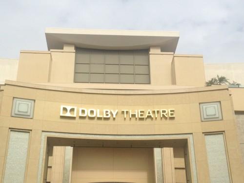 La facciata del Dolby, foto di Gloria