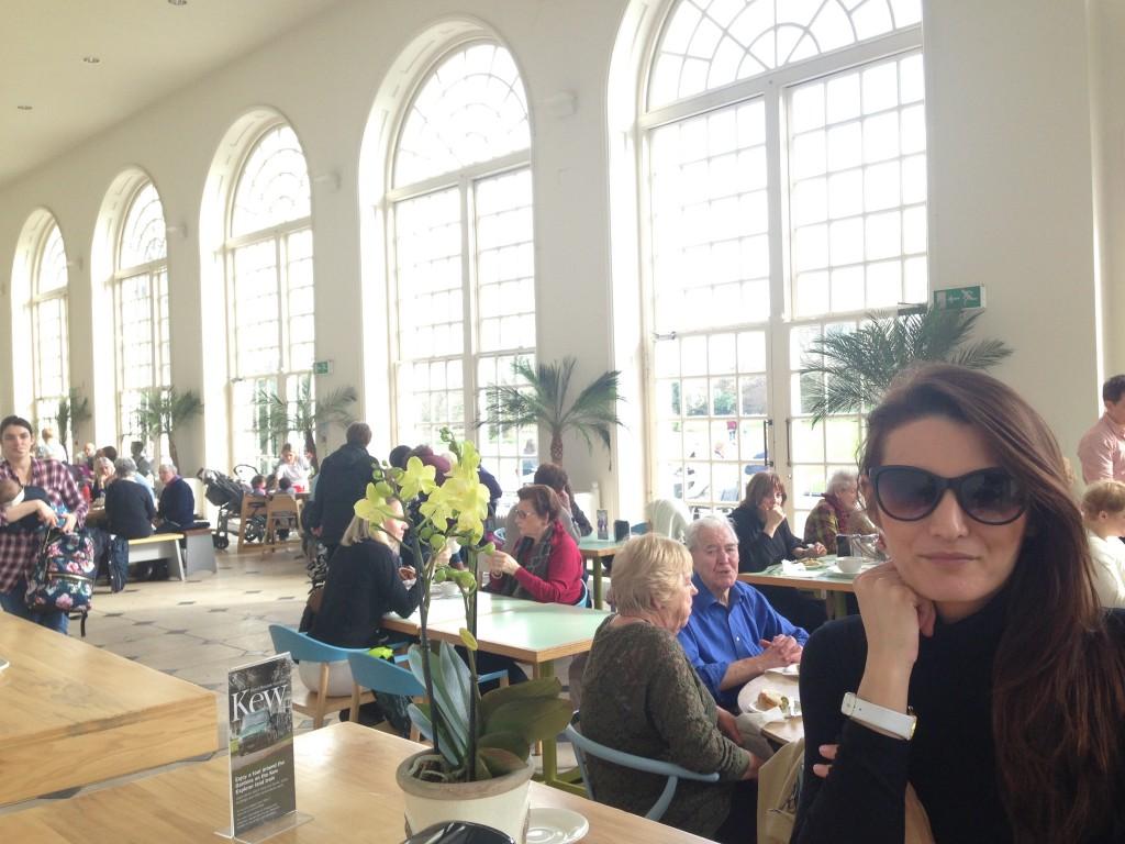 Io nell'Orangerie