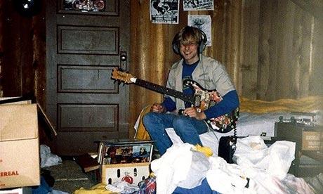 Kurt nella sua casa ad Aberdeen