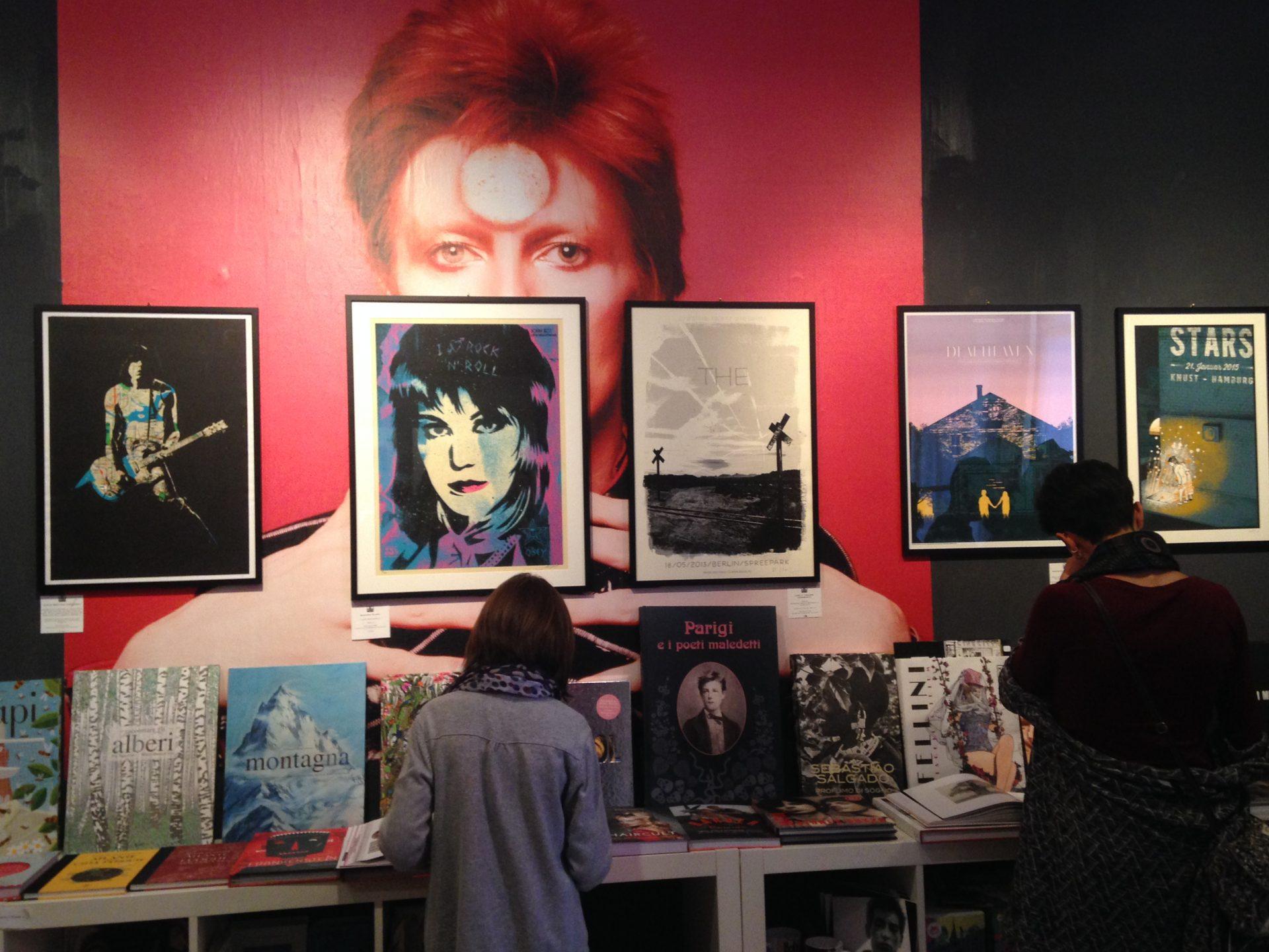 Foto di Gloria, Il book shop