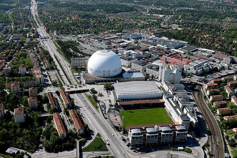 L'arena vista dall'alto