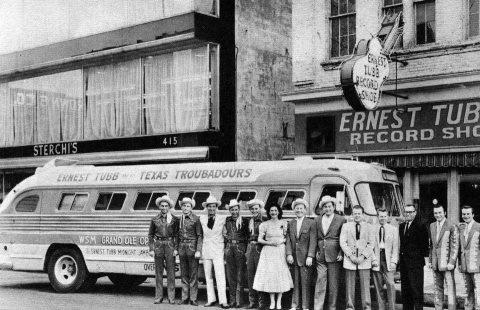 Una vecchia foto del bus