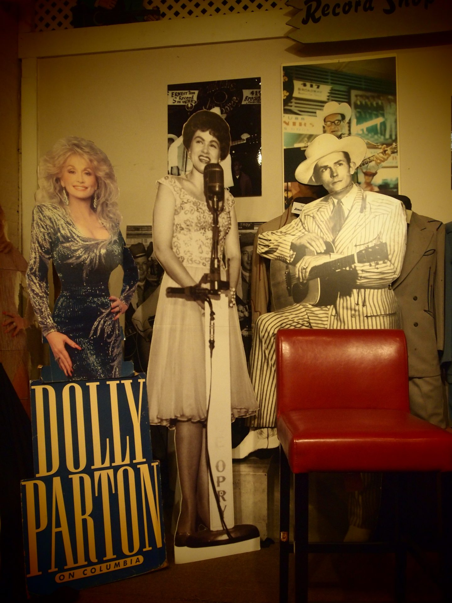 Le icone in negozio, foto di Gloria Annovi