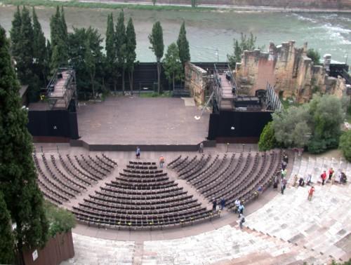 Il Teatro romano, foto wikipedia