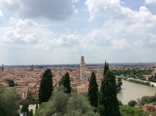 Verona dall'alto, foto di Gloria Annovi