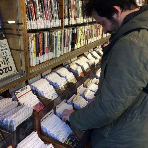 Marco in cerca di dischi