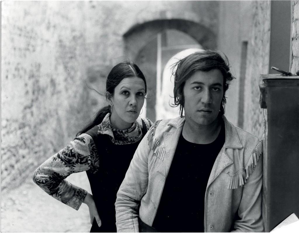 Demetrio e la moglie Daniela