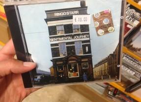 Un tour a Liverpool ed eccoci dentro alla copertina di Sentimental Journey
