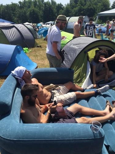 Il nostro materasso da campeggio :)