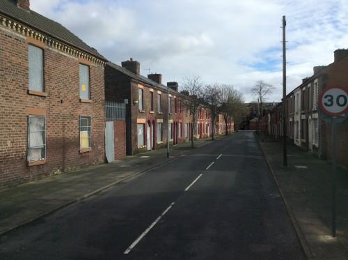 La via in cui abitava Ringo, foto di Gloria Annovi