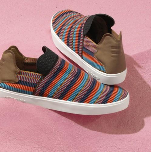 af0504782 adidas-originals-pharrell-williams-pink-beach-footwear-collection-  AO2994 01 laydown