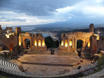 Il Teatro anticpo di Taormina