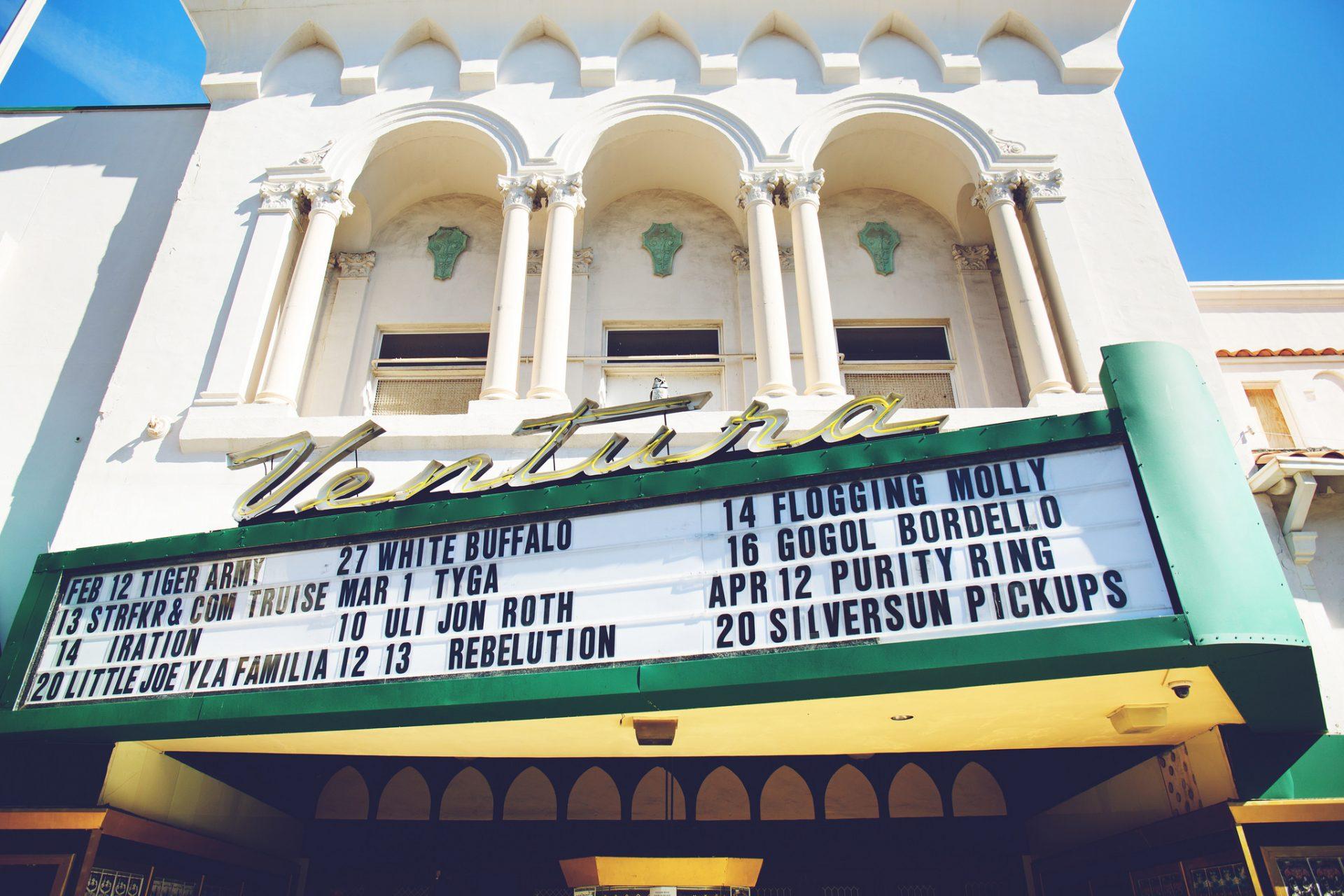 Musica live al Majestic Theatre di Ventura