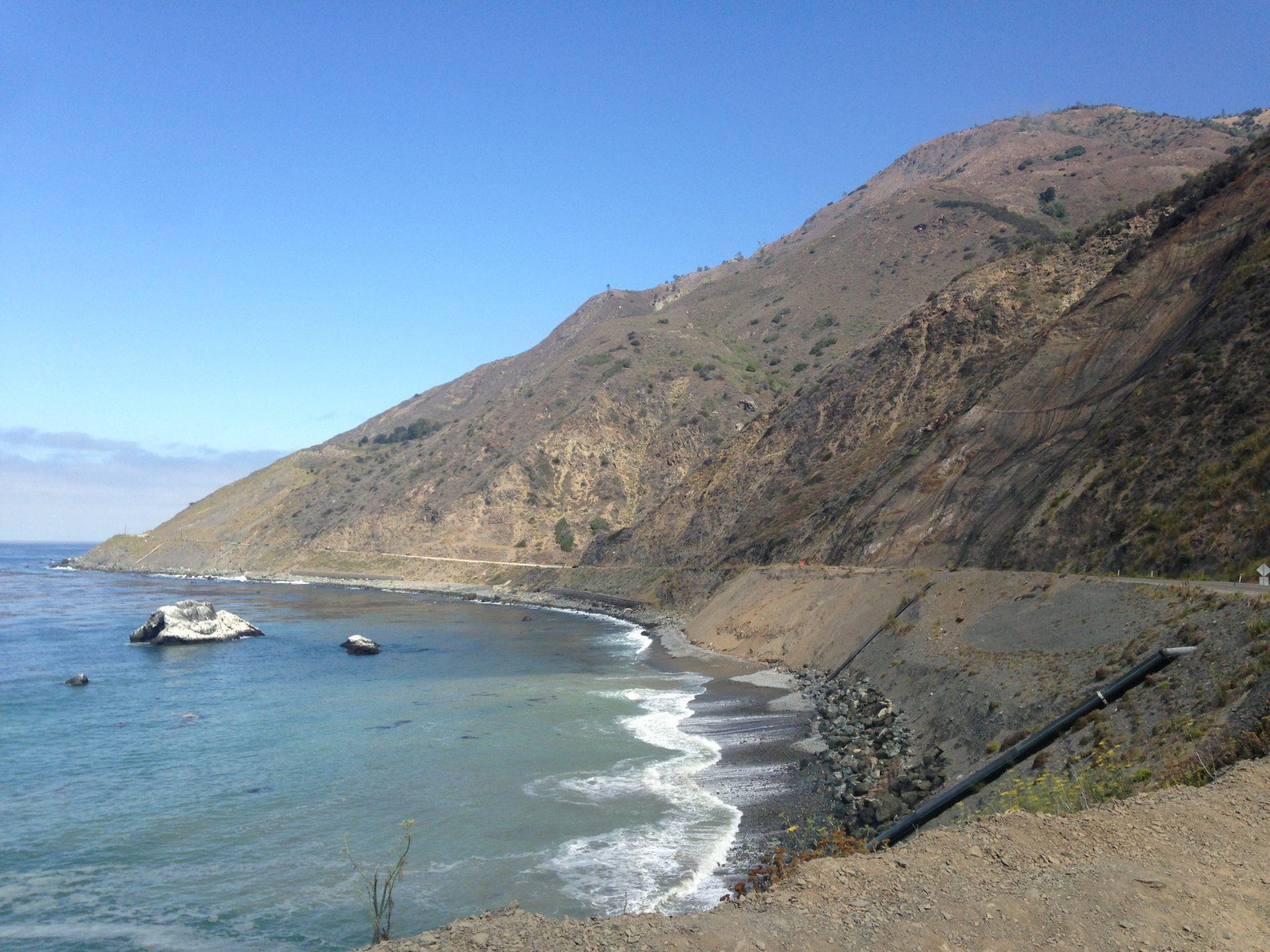 Ecco la Highway1, la strada che abbiamo percorso sulla costa