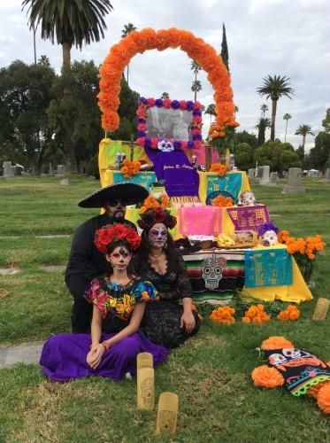 El dia de Los Muertos, foto di Gloria Annovi