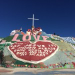 Salvation Mountain. Nelle terre selvagge della California