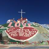 Salvation Mountain. Nelle terre selvagge della California