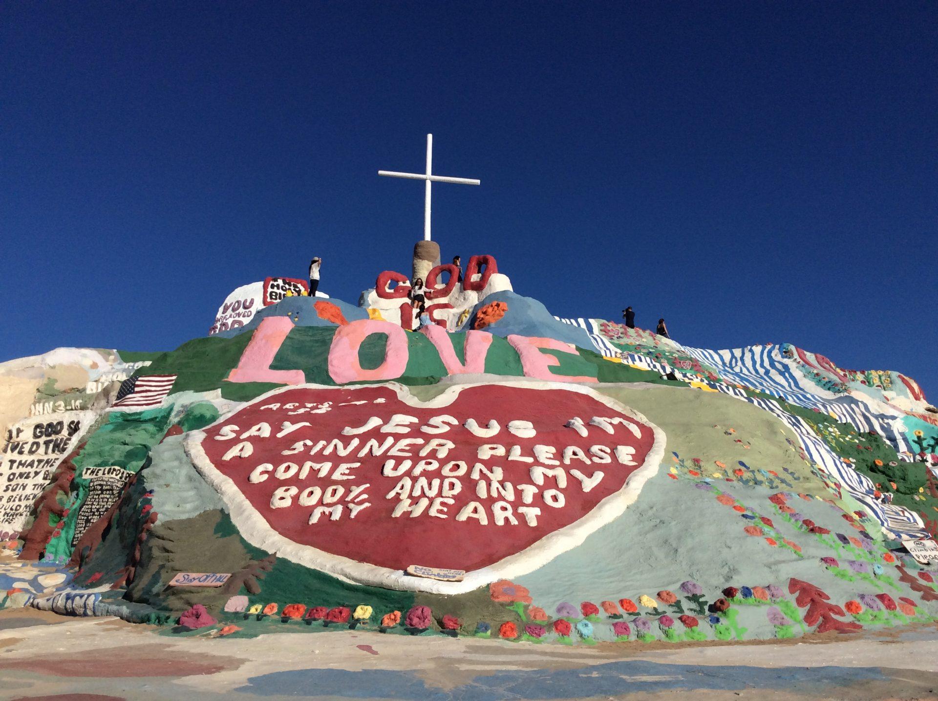 Salvation Mountain, foto di Gloria Annovi