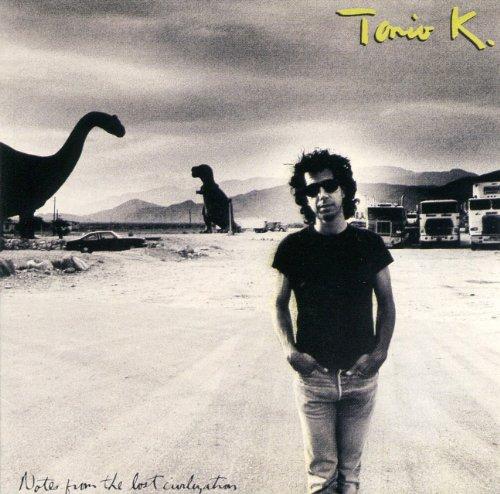 La copertina di Tonio K