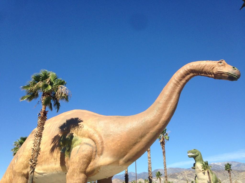 Ecco i dinosauri di Cabazon, foto di Gloria Annovi