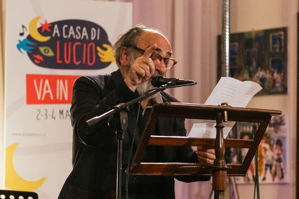 Uno degli eventi organizzati in sala Caruso, foto credit pagina FB evento A Casa di Lucio