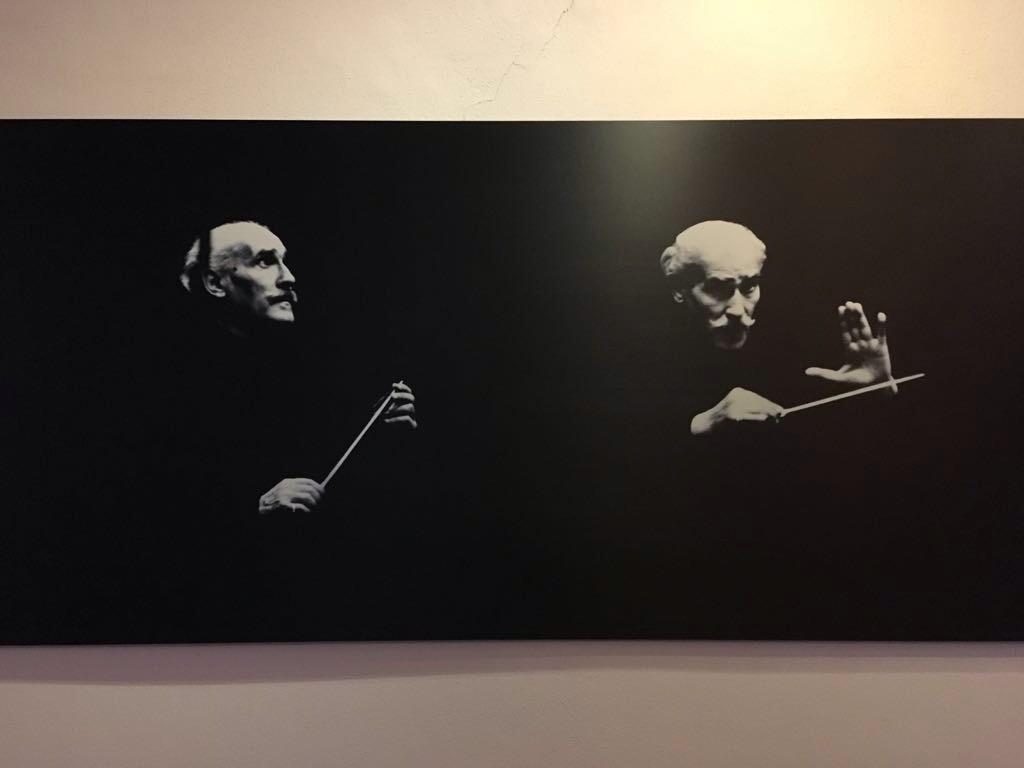 Arturo Toscanini, foto di Robert Hupka