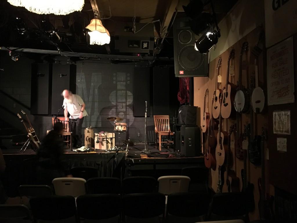 Lo stage, foto di Marco