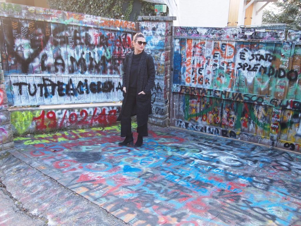 Tra i murales dedicati a Blasco