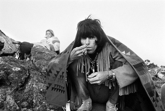 Keith Richards a Joshua Tree