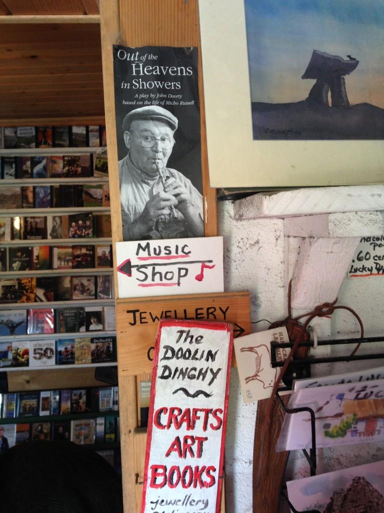 L'interno del negozio, foto di Gloria