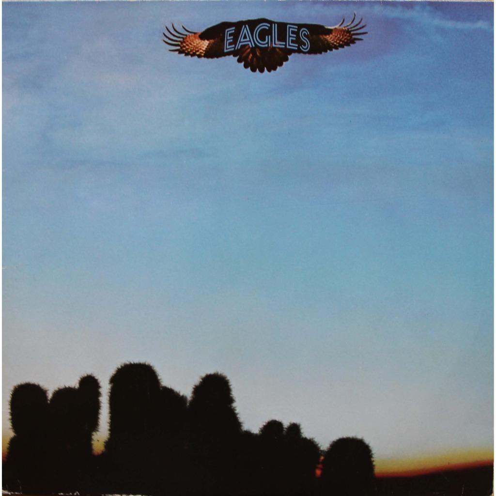 La copertina degli Eagles con i cactus di Joshua Tree
