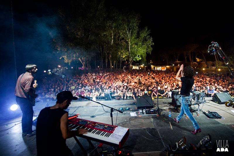 Francesco Motta live a Villa Ada (2016)