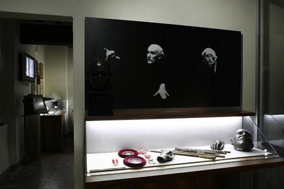 Una nostra foto al museo Toscanini