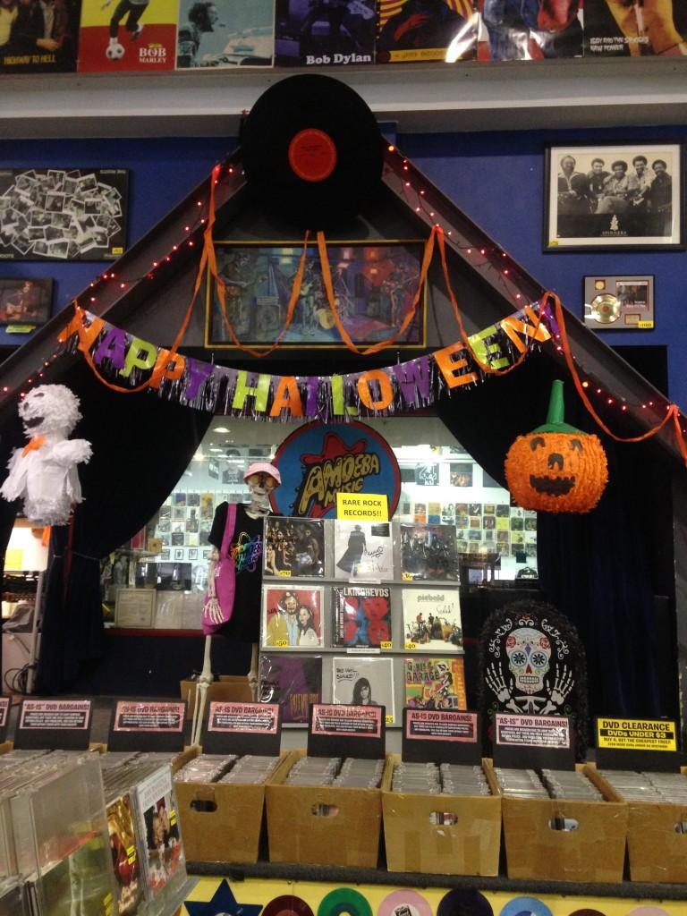 Uno scatto durante il partu di Halloween Foto di Gloria