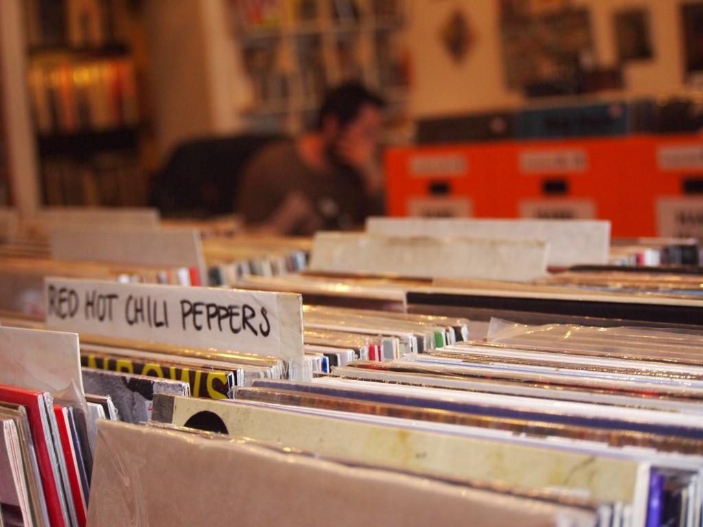 negozio dischi milano