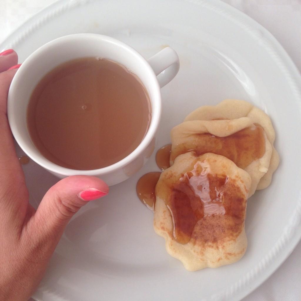 la mia colazione al President