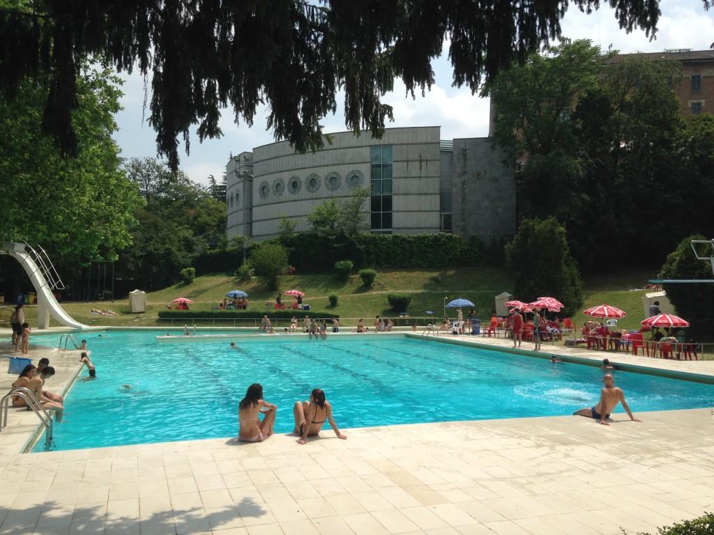 Il nostro soggiorno in piscina tra musicisti e rocker, foto di Gloria