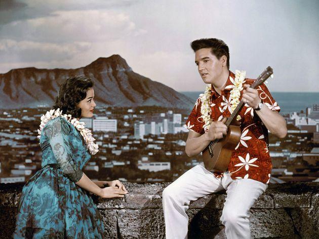 Uno scatto di Elvis anni Cinquanta