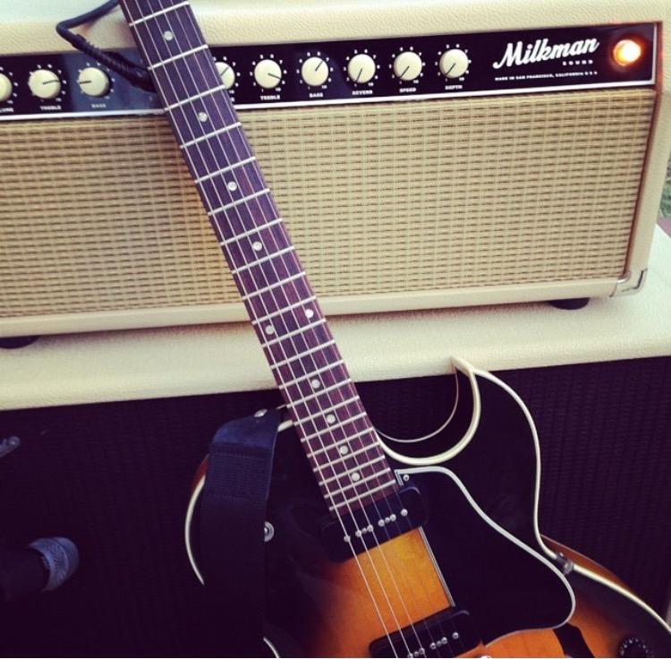 La mia Gibson 135 e il mio ampli Milkman Sound