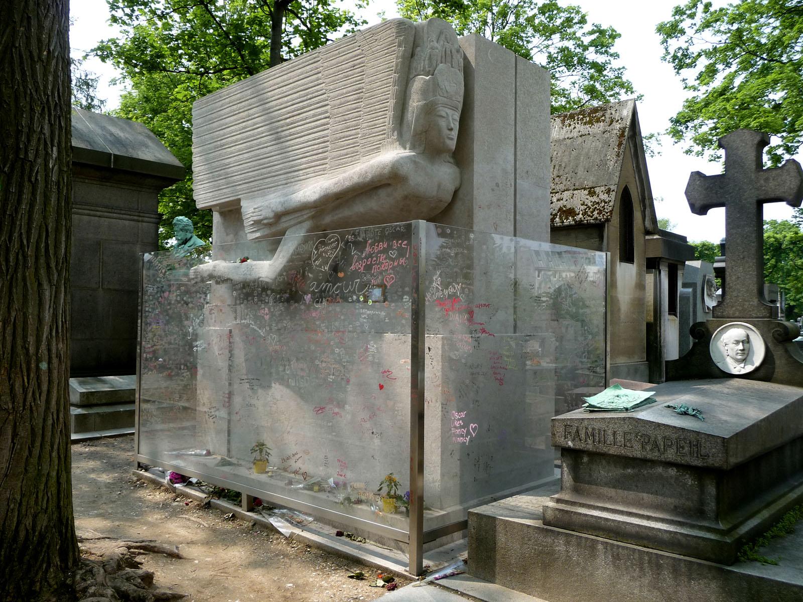 La tomba di Wilde