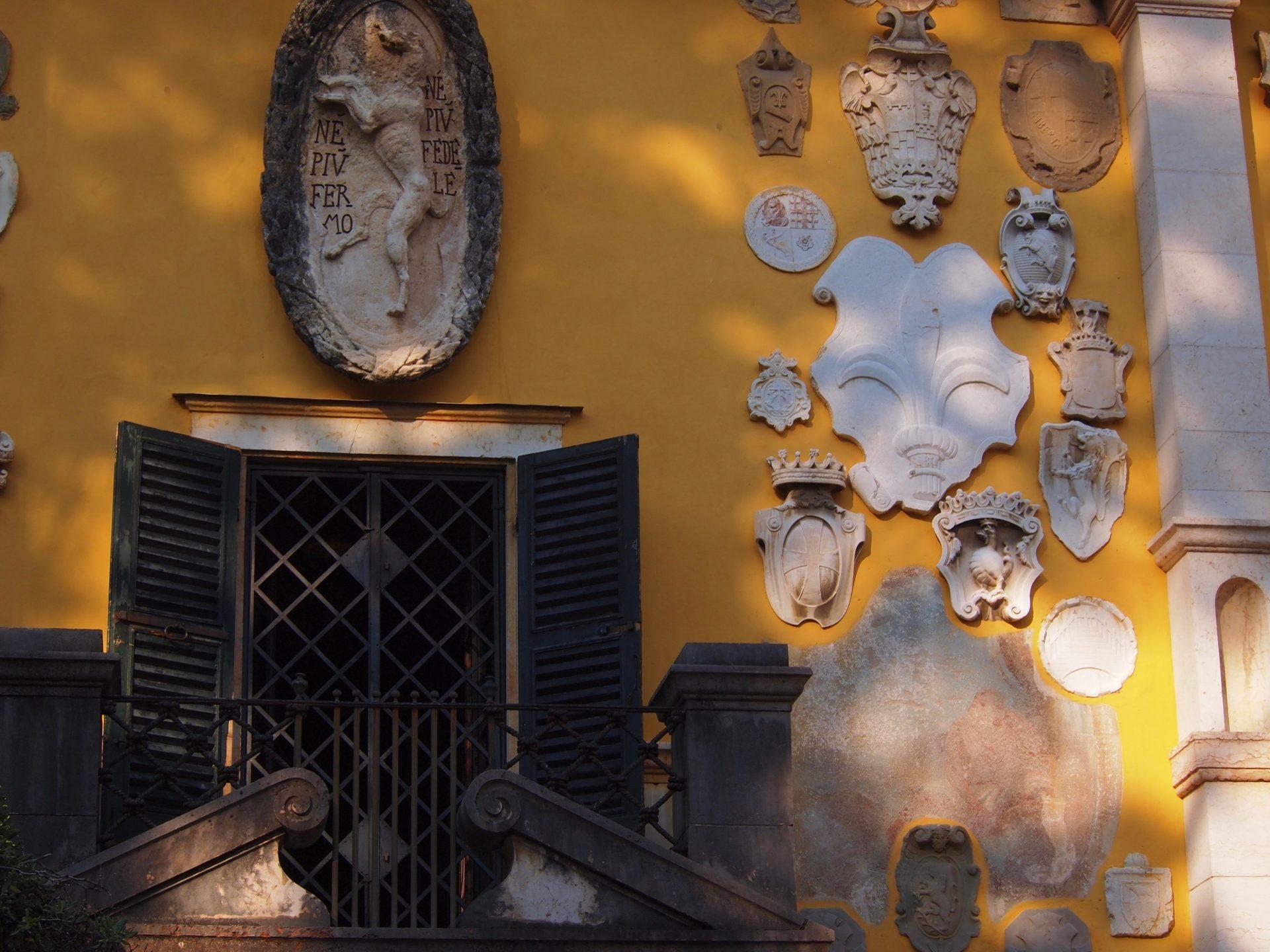 Vittoriale. Foto di Parmiggiani