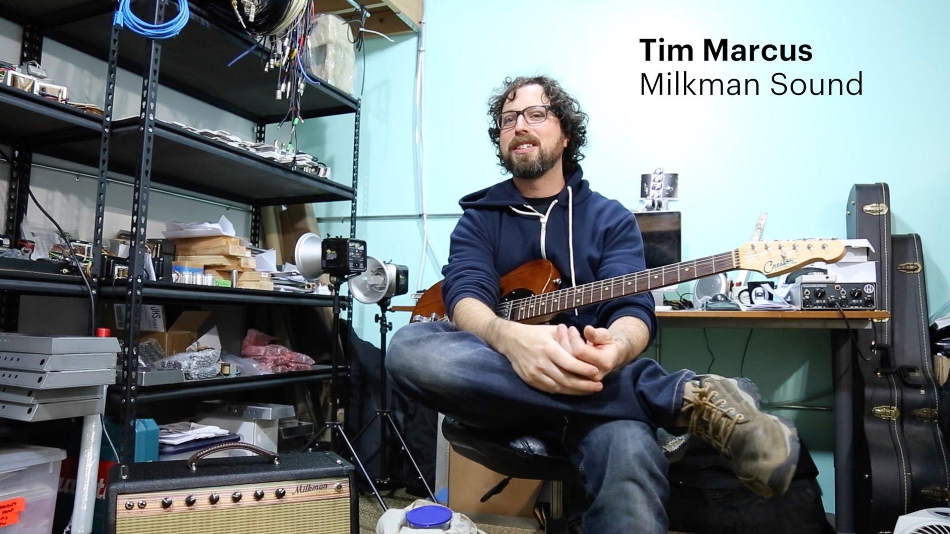 Tim nel suo laboratorio